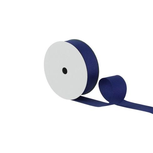Grosgrain Fabric Ribbon Navy - Spritz™ - image 1 of 2
