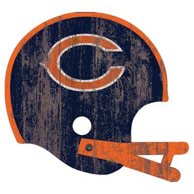 NFL Fan Creations Distressed Helmet Cutout Sign