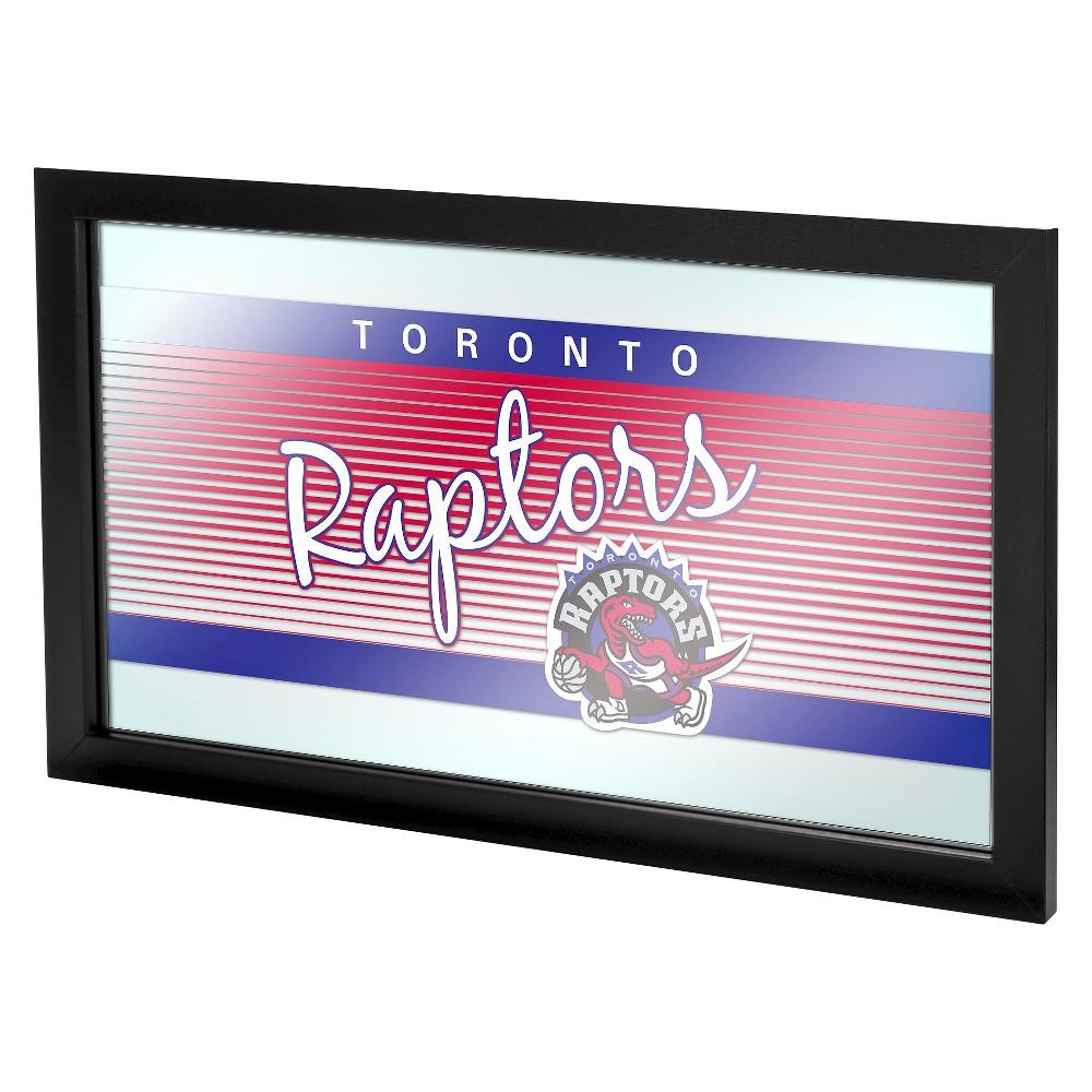 Toronto Raptors Team Logo Wall Mirror, Multicolored
