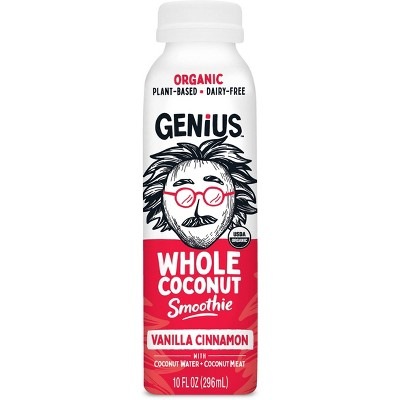 Genius Juice Whole Coconut Smoothie Vanilla - 10 fl oz
