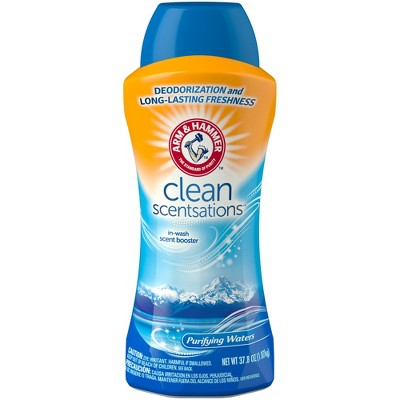 Arm & Hammer Clean Scentsations Purifying Waters In-Wash Freshness Booster 37.8oz