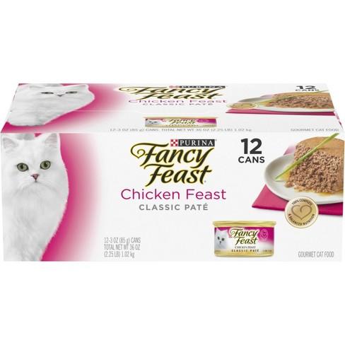 Fancy Feast Classic Chicken Feast Wet Cat Food 12ct Target