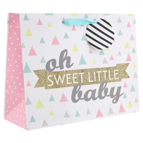 Little Love Pink Giraffe Gift Bag - Spritz™ - image 1 of 2