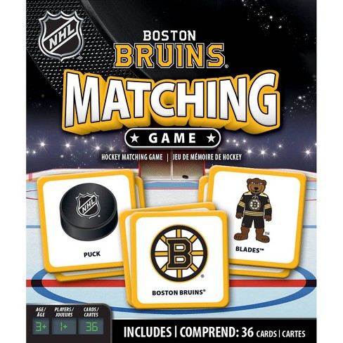 NHL Boston Bruins Matching Game - image 1 of 3