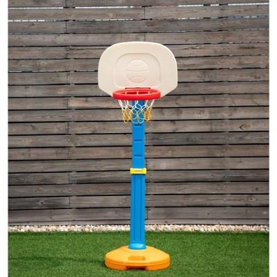 Costway Kids Children Basketball Hoop Stand Adjustable Height Indoor Outdoor Sports Toy