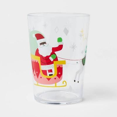 16oz Plastic Santa Tumbler - Wondershop™