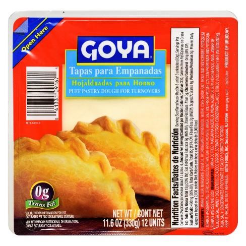 Goya Frozen Tapas Para Empanadas - 11.6oz - image 1 of 1