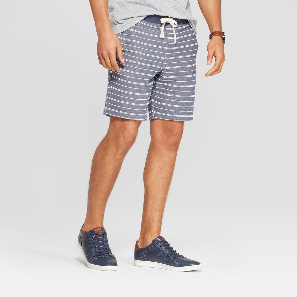 Men's 10 Regular Fit Lounge Shorts - Goodfellow & Co Geneva Blue 2XL