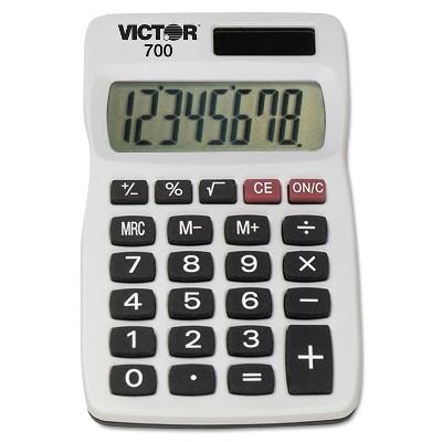 Victor 700 Pocket Calculator 8-Digit LCD