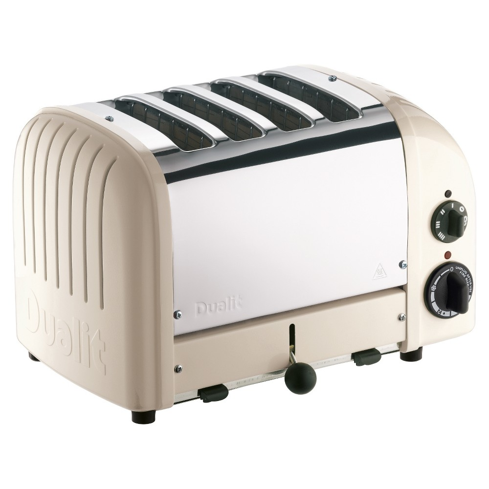 Dualit Toaster - Clay, White Dualit Toaster - Clay Color: White.