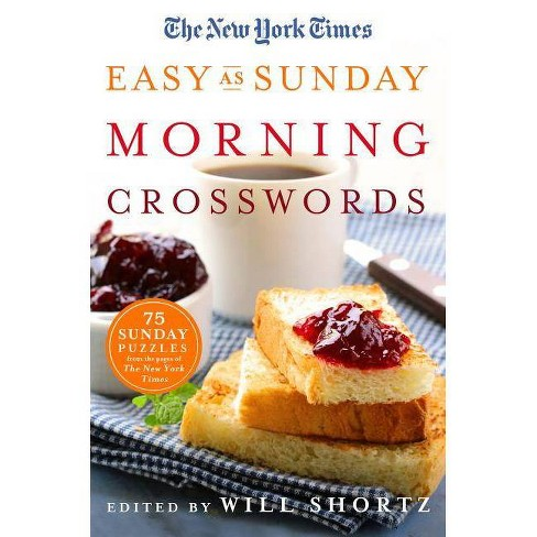 The New York Times Easy as Sunday Morning Crosswords - (Paperback) - image 1 of 1