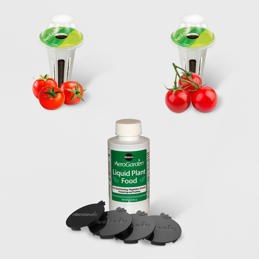 Image of Cherry Tomato 6 Pod Seed Kit - AeroGarden, Red