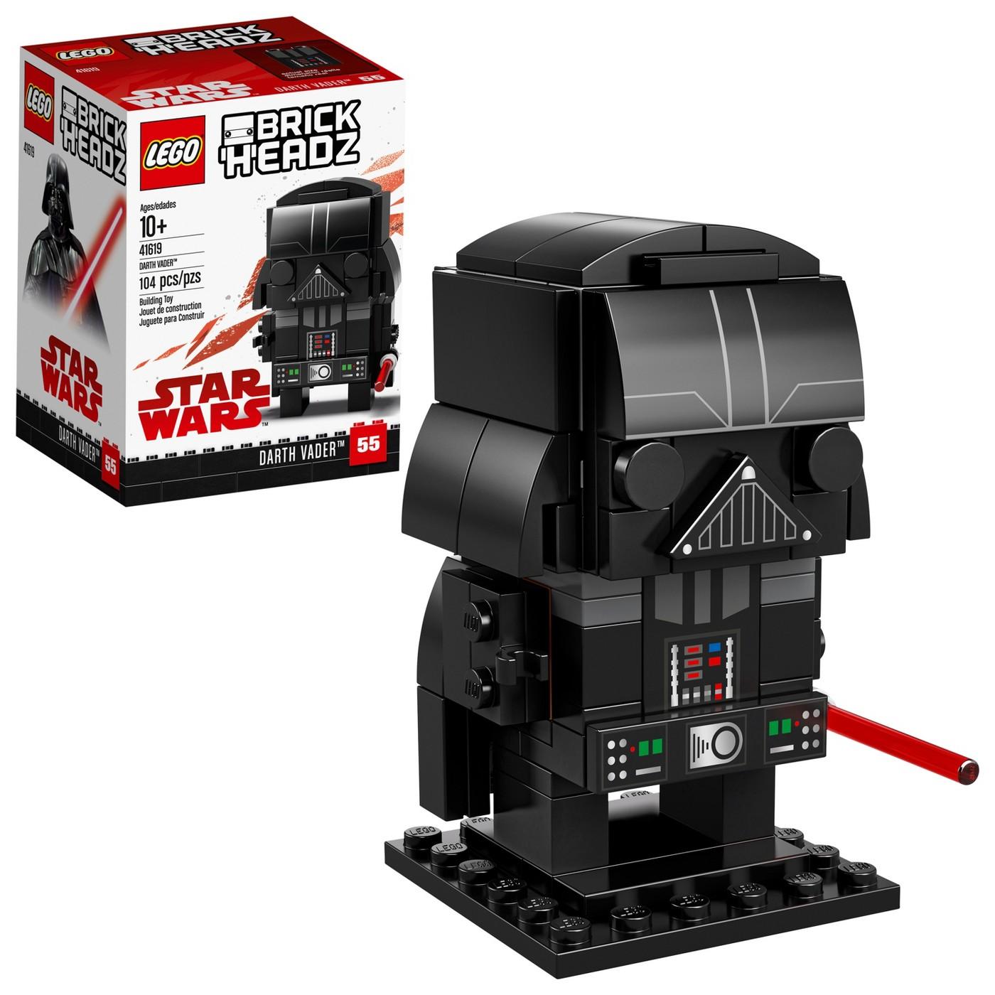 LEGO BrickHeadz Star Wars Darth Vader 41619 - image 1 of 6