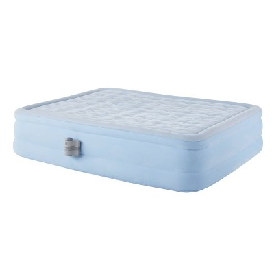 "Simmons Beartyrest Contour Aire 18"" Raised Air Mattress with Multi-use Electric Pump - Queen"