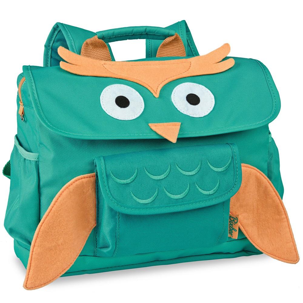 "Image of ""Bixbee 10"""" Kids' Owl Backpack - Aqua, Kids Unisex, Size: Small, Blue"""