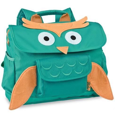 """Bixbee 10"""" Kids' Owl Backpack - Aqua - image 1 of 3"""