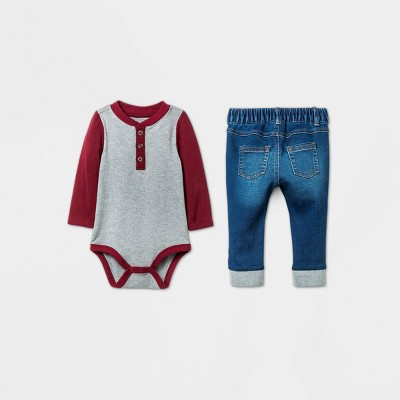 Infant Boy Christmas Outfits Target