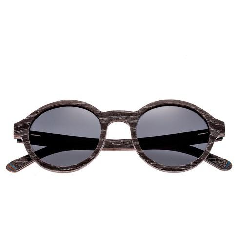 d45c1f4690 Earth Wood Maho Polarized Sunglasses - Silver-Walnut Black
