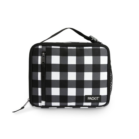PackIt Lunch Bag - Black/White Plaid - image 1 of 7