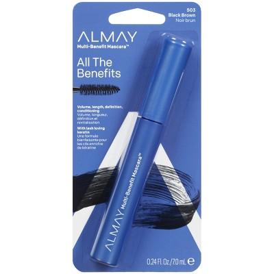Almay Multi-Benefit Eye Waterproof Mascara - 4-in-1 Formula - 0.24 fl oz