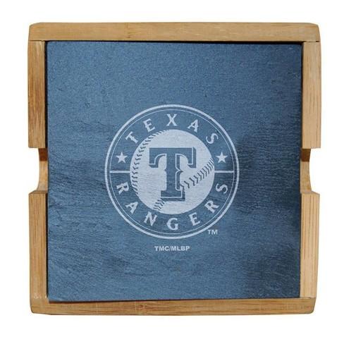 MLB Texas Rangers Slate Coaster Set - image 1 of 1