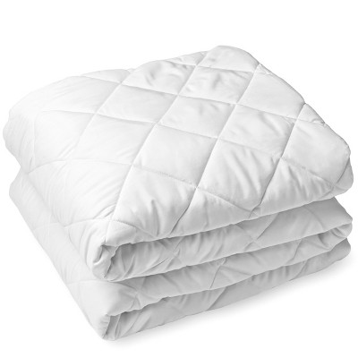 Bare Home Quilted Fitted Mattress Pad