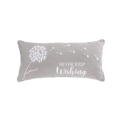 C F Home Never Stop Wishing Pillow Target