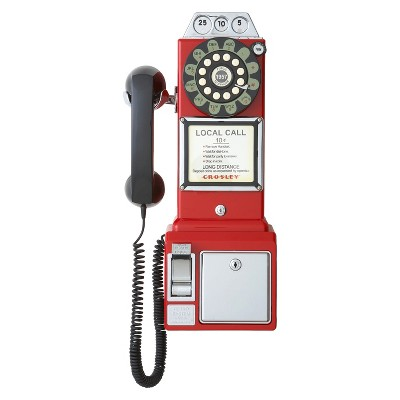 Crosley® 1950's Classic Pay Phone