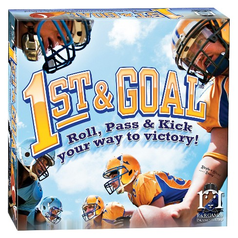 R&R Games 1st and Goal Football Board Game - image 1 of 2