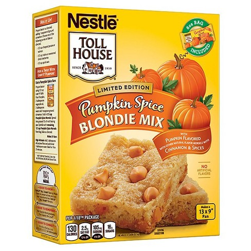 Nestle Toll House Pumpkin Spice Blondie Mix - 19.04oz - image 1 of 1
