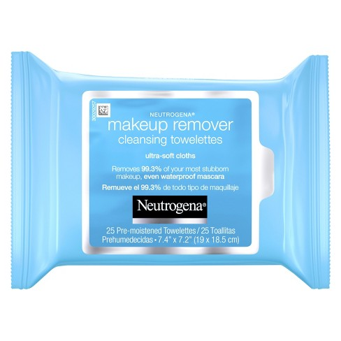 Neutrogena Makeup Remover Cleansing Towelettes & Face Wipes - 25ct - image 1 of 3