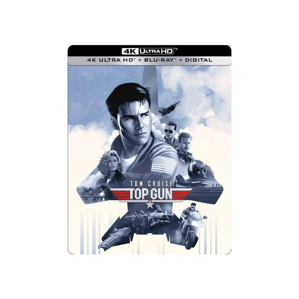 Top Gun Steelbook 4k Uhd