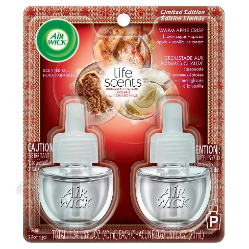 Air Wick Scented Oil, Twin Refill Life Scents Love, 2ct .67 oz - image 1 of 6