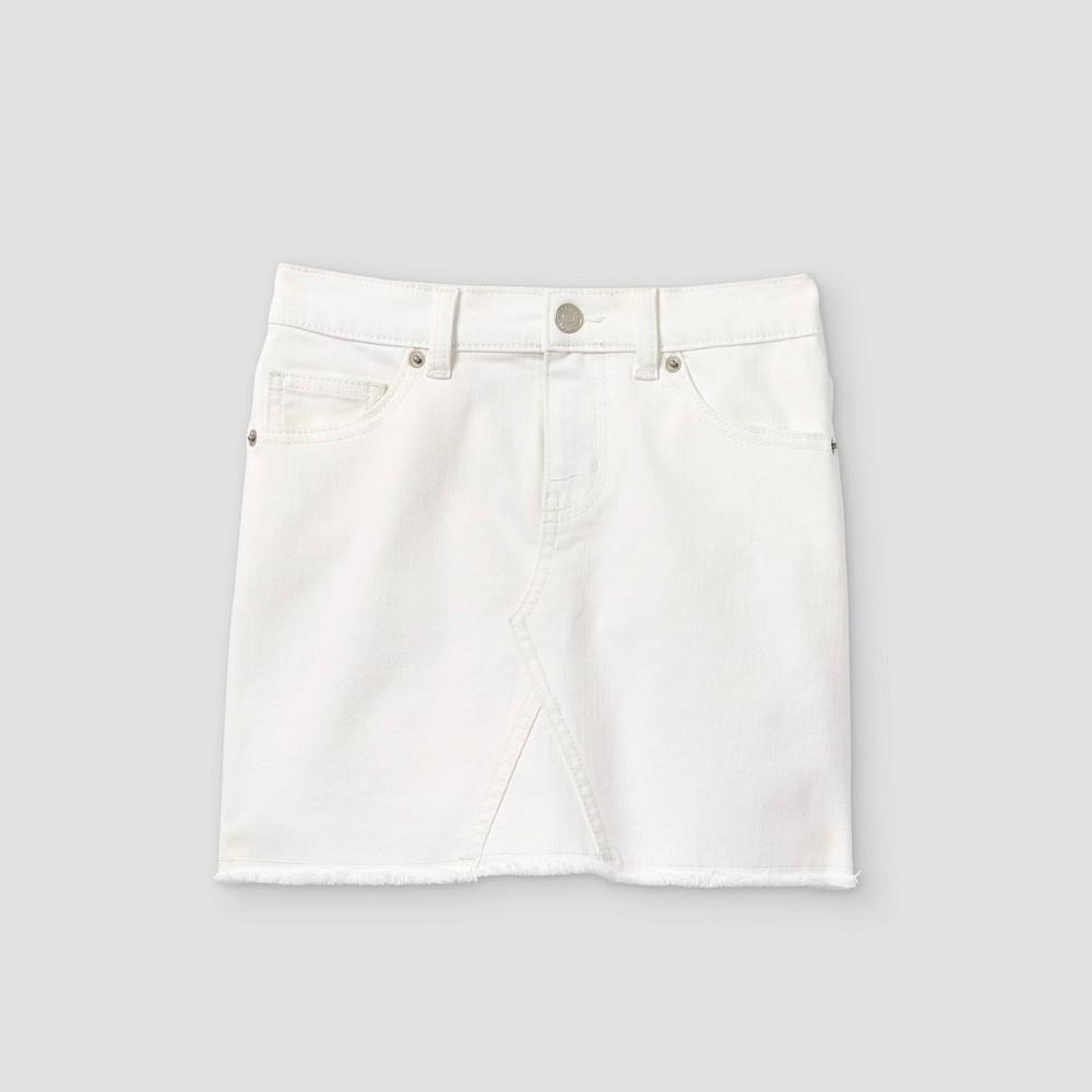 Girls 39 Jean Skirt Cat 38 Jack 8482 White Wash Xs