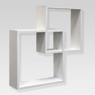 Interlocking Shelf Set - White - Threshold™