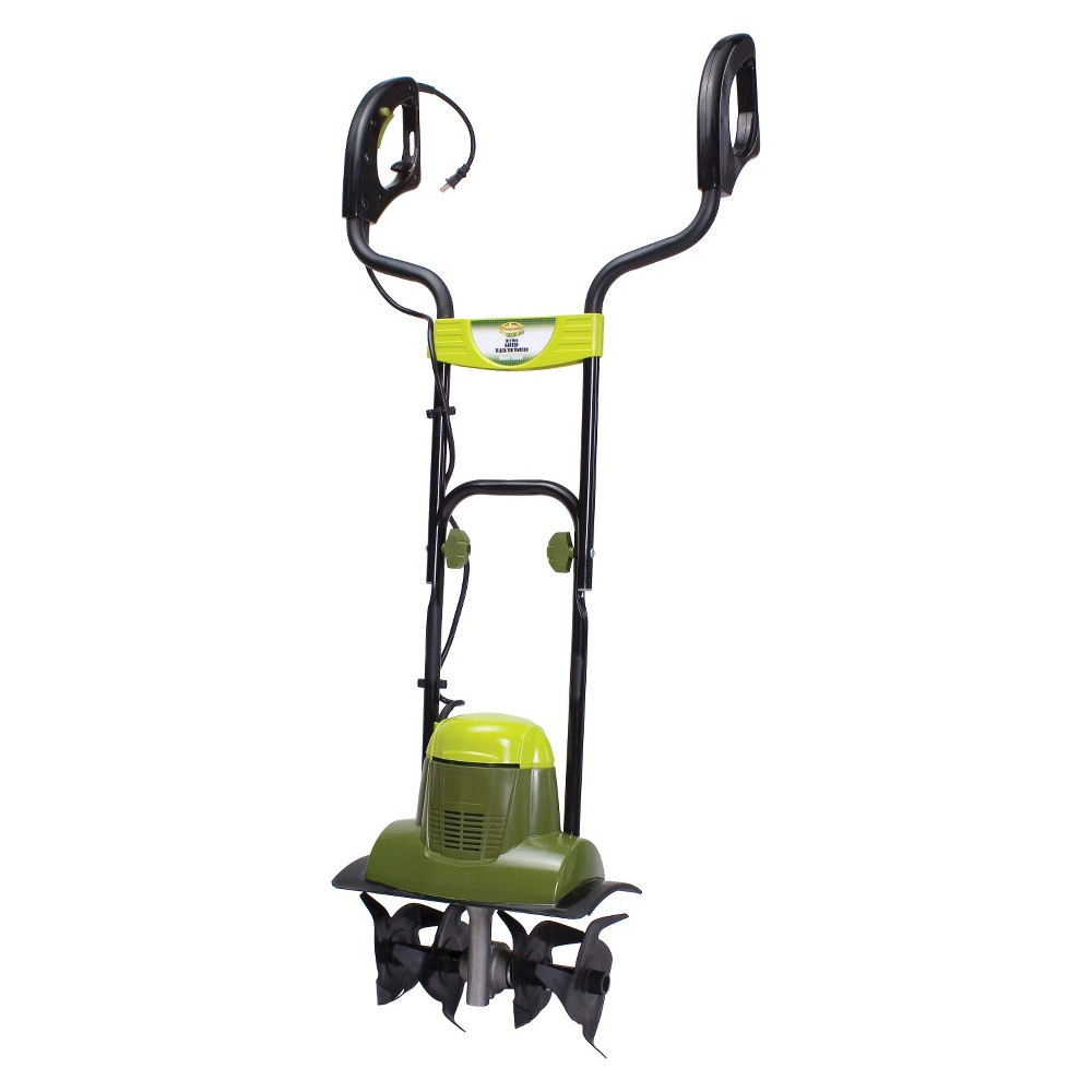 Sun Joe 6.5 Amp Electric Garden Tiller/Cultivator, Green