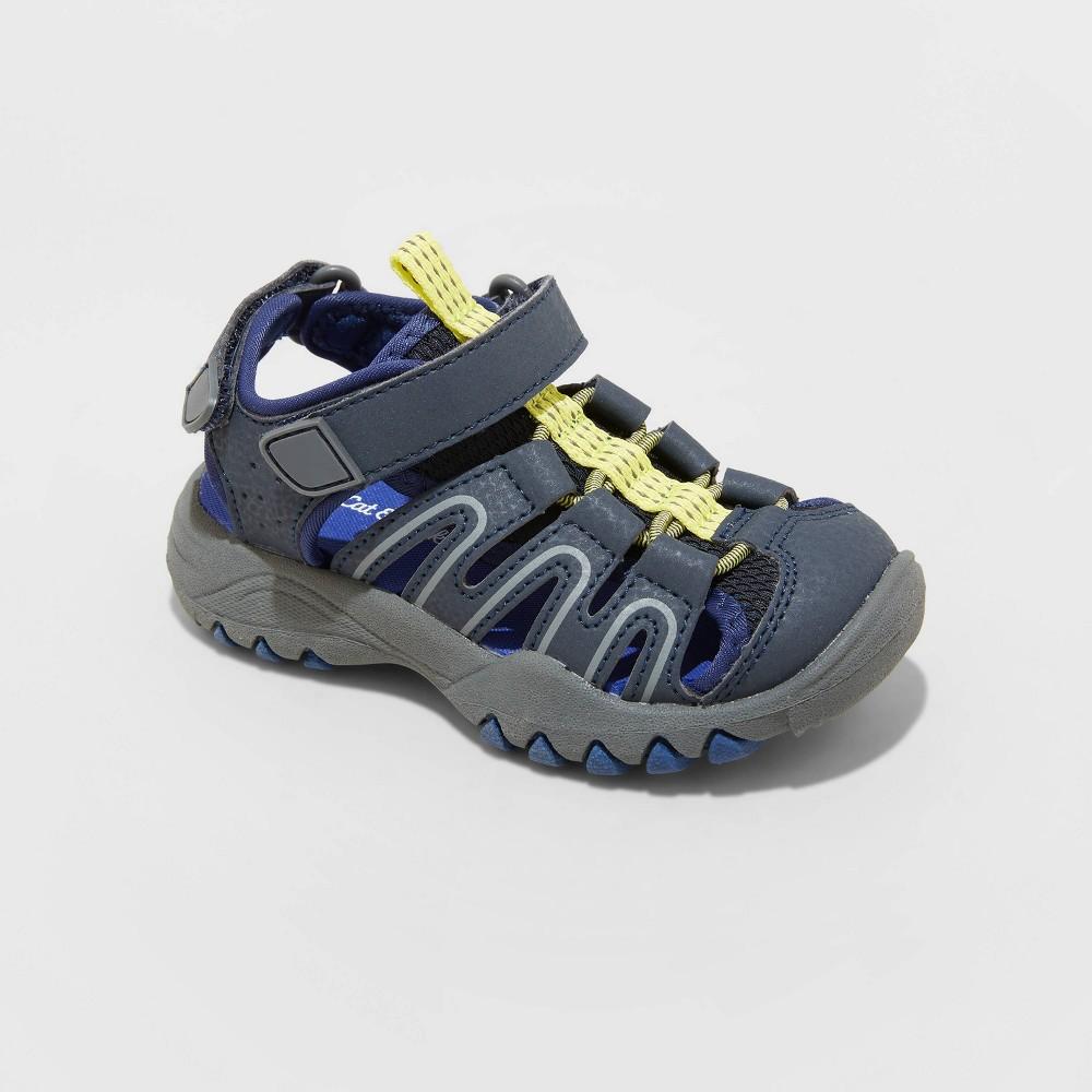 Toddler Boys 39 Afton Sandals Cat 38 Jack 8482 Navy 2