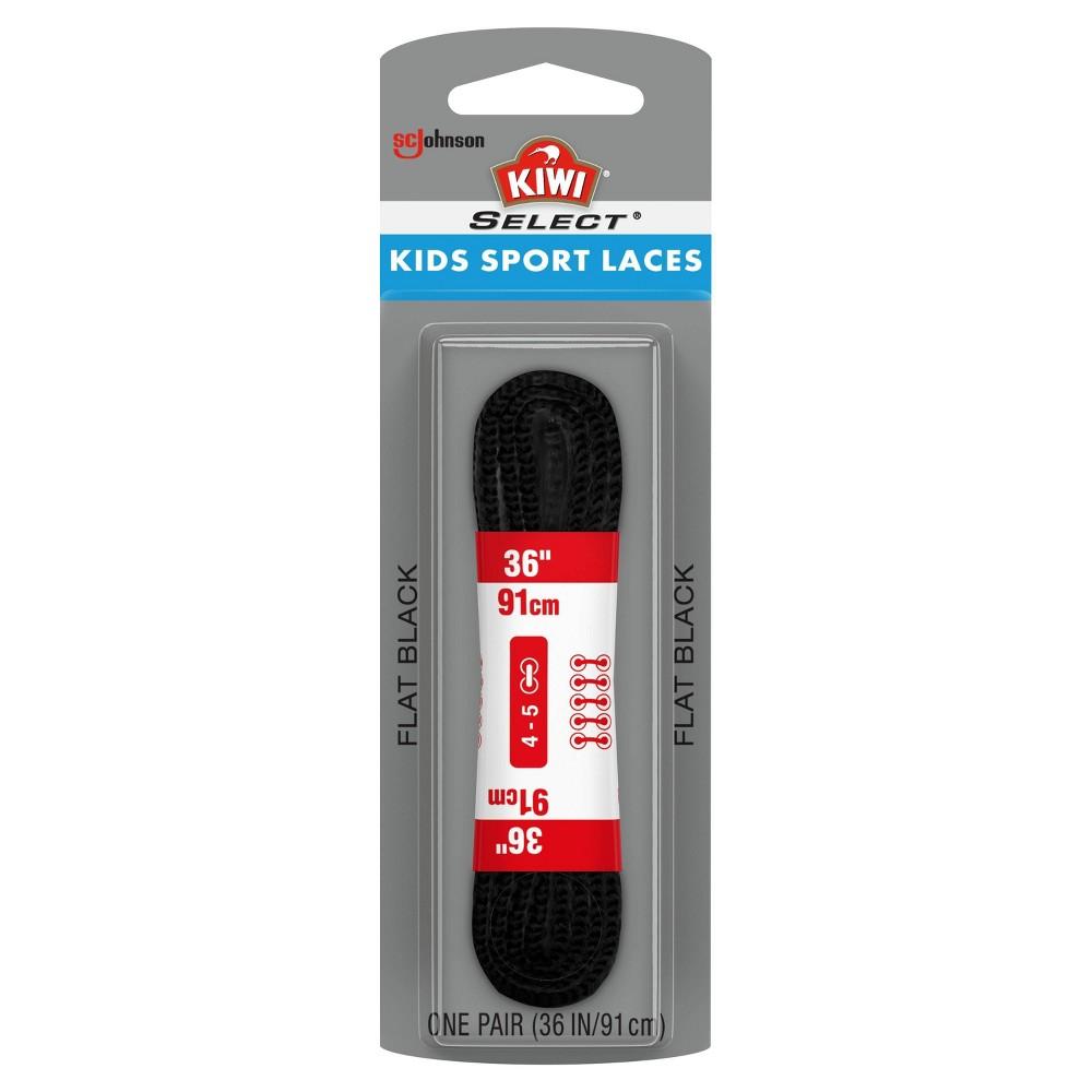 "Image of ""Kiwi Select Kids Sport Flat Lace - Black 36"""", Kids Unisex"""