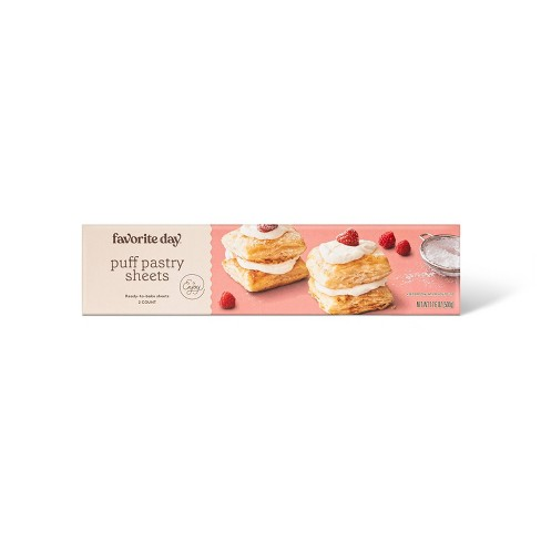 Frozen Puff Pastry Sheets - 2ct - Favorite Day™ - image 1 of 2