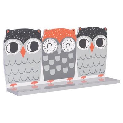 Trend Lab® Wall Shelf - Olive Owl
