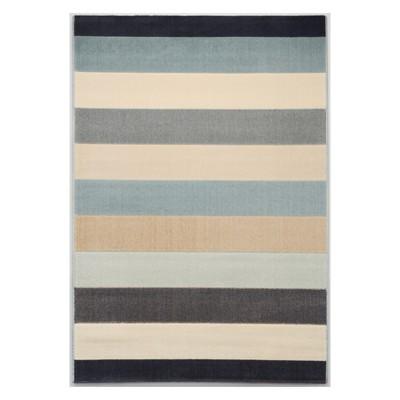 Blue Stripe Rug (5'x7')- Balta Rugs