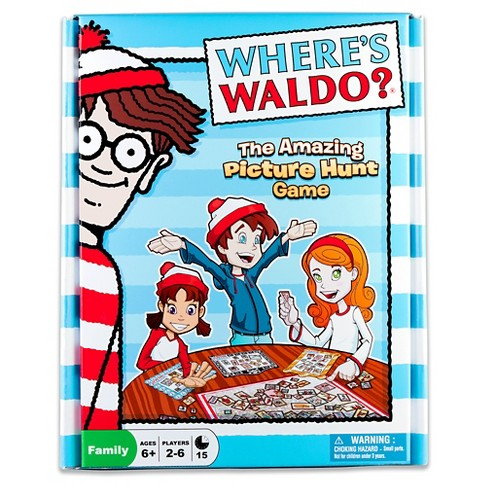 University Games Where's Waldo? The Amazing Picture Hunt Game - image 1 of 2
