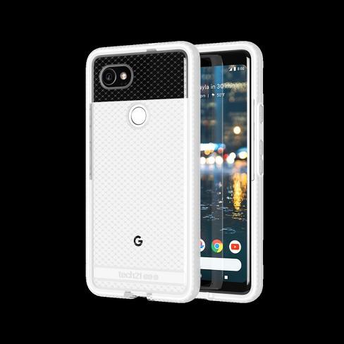buy popular 1c54e a9695 Tech21 Google Pixel 2 XL Case Evo Check - White/Clear