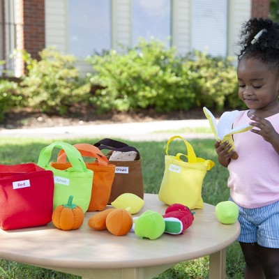 Creative Minds Pretend Play Fruit and Food Bags