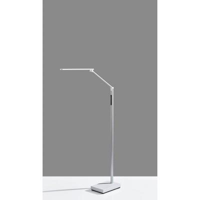 Lennox Floor Lamp (Includes LED Light Bulb) White - Adesso