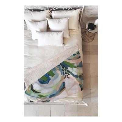 "Green Fleck Throw Blankets 50""X60"" - Deny Designs"