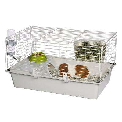 Ferplast Cavie Large Size Multi-Level Guinea Pig Cage with Water Bottle, Food Dish and Guinea Pig Hide-Out