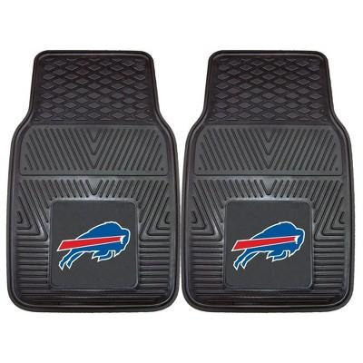 NFL Fan Mats 2pc Vinyl Car Mat Set