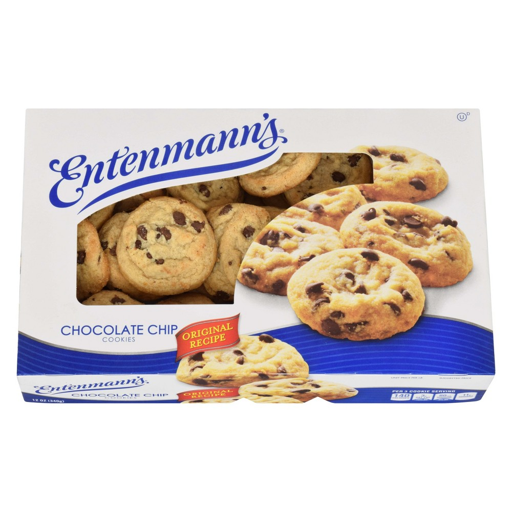 Entenmann's Chocolate Chip Cookies, 12 oz