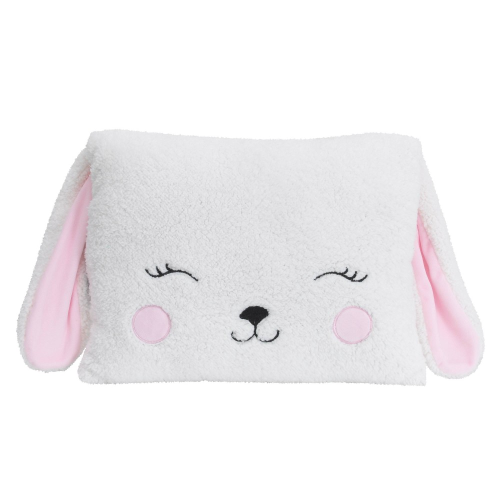 Image of NoJo Little Love Bunny Throw Pillow